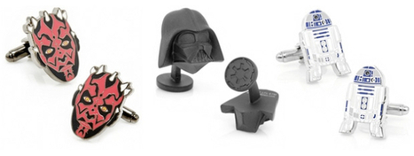 'Star Wars' cufflinks: Fashion fit for a Calrissian | All Geeks | Scoop.it