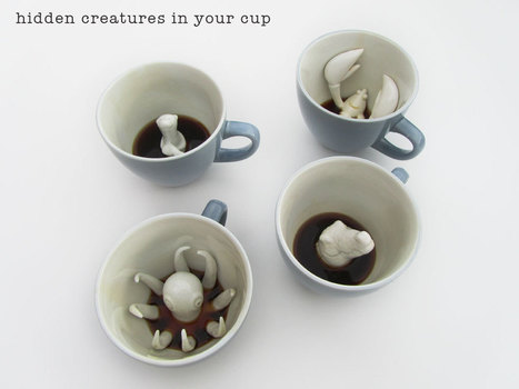 Creature Cups   Creatures in your cup.   Gizmos and gadgets   Scoop.it