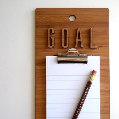 Communication et rédaction de contenus pour les business créatifs: {S'organiser} Étape 3: Se fixer des objectifs... et surtout les planifier!   Idées et aides pour entreprise créatrice   Scoop.it