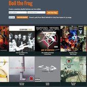 """Boil the Frog Creates """"Six Degrees of Separation"""" Style Playlists that Lead from One Artist to Another 