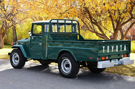 Cool Find 1978 Toyota FJ45 Land Cruiser Pickup | Toyota Tacoma | Scoop.it
