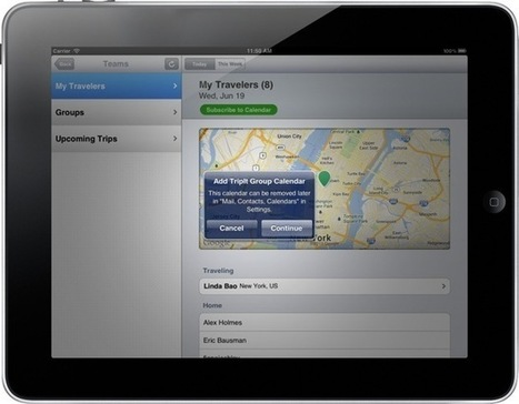 TripIt brings its headache-saving team travel planning to iPhone and iPad | Tourism Social Media | Scoop.it