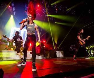 Photos: Paramore performs sold-out show at The Joint in The Hard Rock Hotel - Las Vegas Sun | Paramoreband | Scoop.it