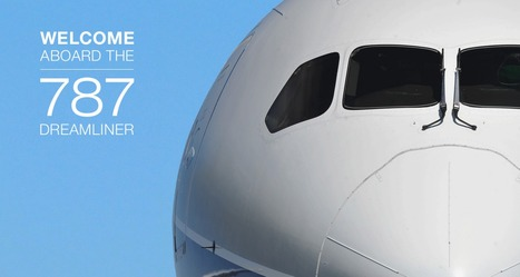 Welcome aboard the 787 Dreamliner passenger experience | Vegetarian Zombies | Scoop.it