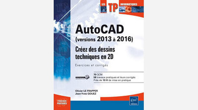 Livre AutoCAD 2013 à 2016 | 3D Library | Scoop.it