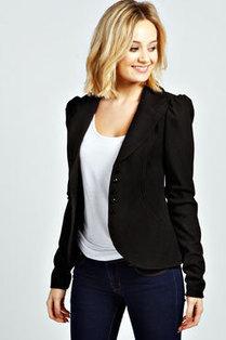 Ella Jacquard Fitted Blazer | Womens Clothing | Scoop.it