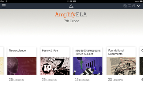 Amplify's Middle School Content Makes Learning Look Beautiful - Forbes | music technology | Scoop.it