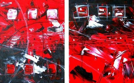9 Squares by Patricia Quinche   Abstract and Figurative Art  by Patricia Quinche   Scoop.it