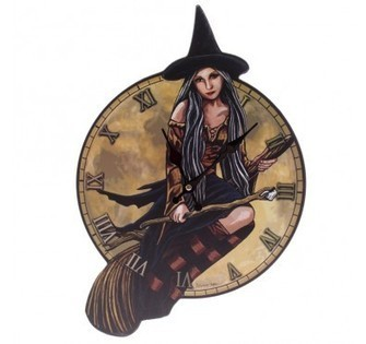 Witch Wall Clock | Home Gifts | Scoop.it