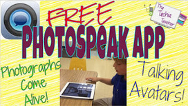 The Techie Teacher: PhotoSpeak App | Mobile learning and app design for educators | Scoop.it