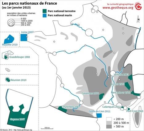 La Géothèque | Un site avec des vrais morceaux de géographie dedans | HG | Scoop.it