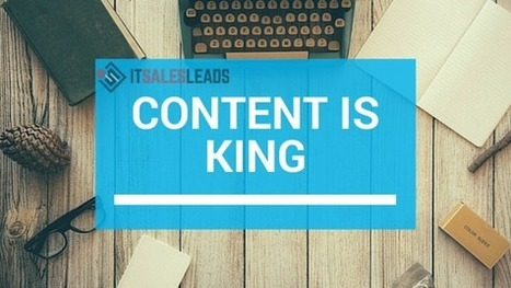 A Blog Roll: SEO, Social and Content Marketing for Tech | ITSalesLeads | IT Lead Generation and Appointment Setting Services Provider | Scoop.it