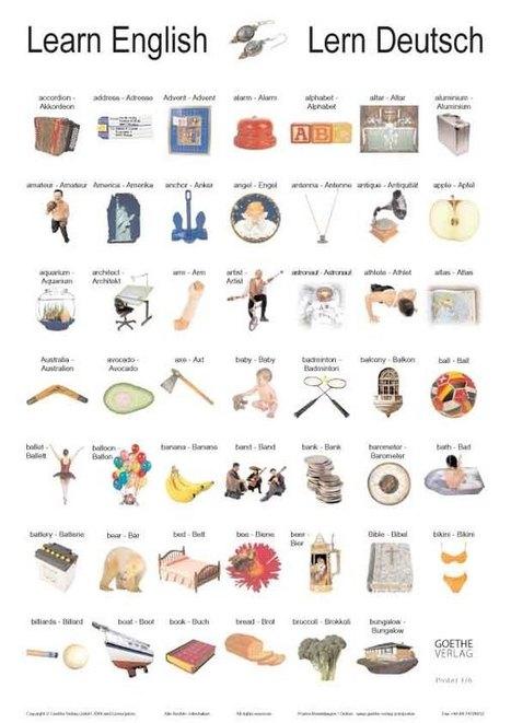 LEARN ENGLISH & LERN DEUTSCH: Poster / Plakate - Sympathiewerbung für die deutsche Sprache! | Sections bilangues allemand-anglais ............................................. (ressources pour élèves et enseignants) | Scoop.it