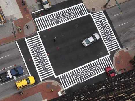 Reinventing Pedestrian Street Walkways: Artistic Crosswalks in Baltimore | Strategic management | Scoop.it