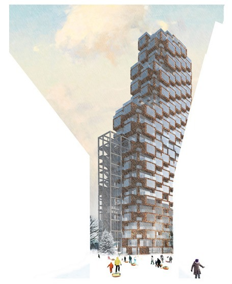 OMA Wins Skyscraper Competition in Stockholm | The Architecture of the City | Scoop.it