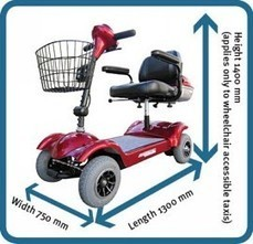 Travelling with a wheelchair or mobility scooter (Department of Transport and Main Roads) | Elderly use safety mobility chairs | Scoop.it