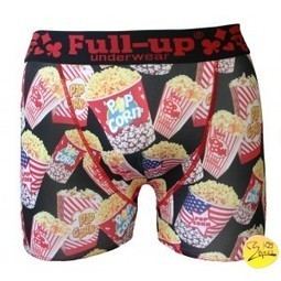 boxer fantaisie full-up homme tendance motif pop corn | présentation de b-boxs | Scoop.it