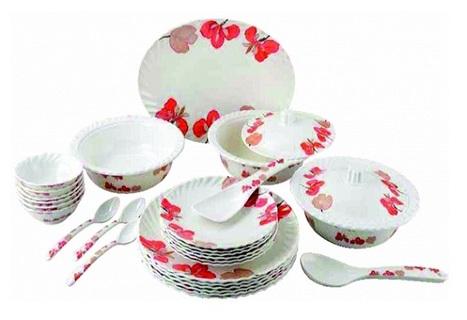 Flora Melamine Dinner Set Manufacturer in Delhi | Home Appliances Traders | Scoop.it