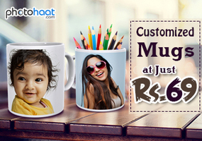 Buy Customized Classic White Mug at FLAT 45% off + Extra 68 % off - Photohaat - DEAL OF THE DAY | Amazing designs for amazing customized gifts | Scoop.it
