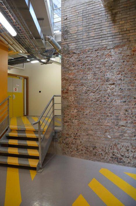 Espaces évolutifs sous les halles rénovées de l'Ensam - Batiweb.com | Chauffage - ECS - Ventilation | Scoop.it