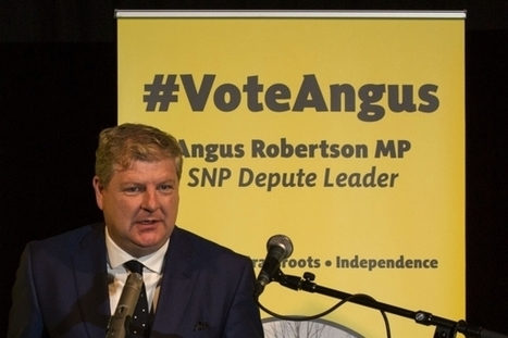No voters should feel 'cheated and betrayed', says SNP depute leadership contender Angus Robertson | My Scotland | Scoop.it