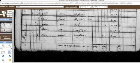 Lulu Archive Availles-en-Châtellerault.: La Reliandrie par les archives. | GenealoNet | Scoop.it