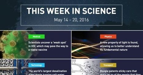This Week in Science: May 14 - 20, 2016 | Professional Learning for Busy Educators | Scoop.it