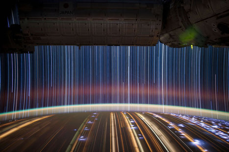 Stunning Star Trails from Space & Incredible ISS Astronaut Photography [27 Pics, 2 Vids] | Only Good News | Scoop.it