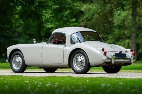 MGA coupé, la plus belle des MG ! - | Voitures anciennes - Classic cars - Concept cars | Scoop.it