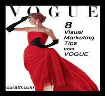 8 Visual Marketing Lessons from Vogue - Curatti | Writing for Social Media | Scoop.it