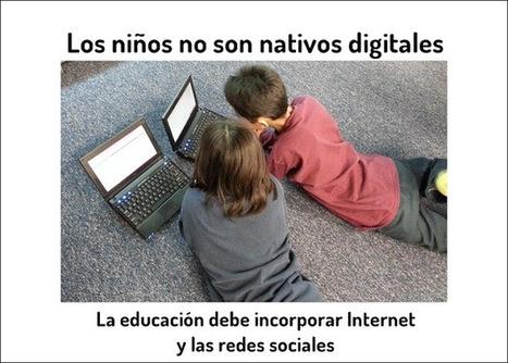 Los niños no son nativos digitales | Las TIC en el aula de ELE | Scoop.it
