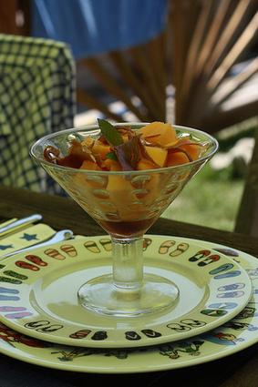 Melon au jambon, sirop de Porto | Ma p'tite cuisine | Jambon FR | Scoop.it