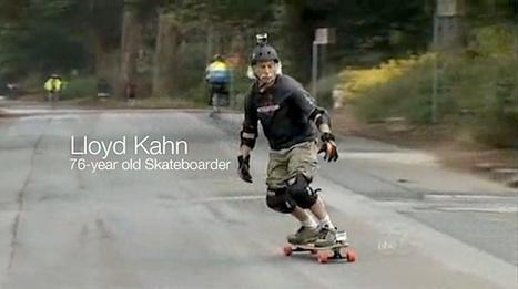 Skating: Lloyd Kahn – 76-year old Skateboarder (Video) | Gov Austin | Scoop.it