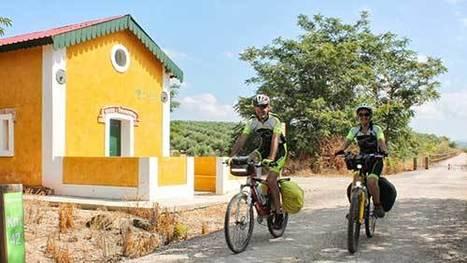 En bici por la ruta del tren del Aceite | Deporte sostenible UNDAV | Scoop.it