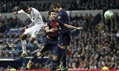 Real Madrid claw back Barcelona thanks to Raphaël Varane's late header | AC Affairs | Scoop.it