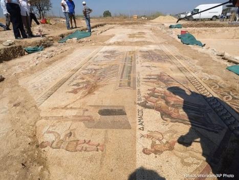Une mosaïque exceptionnelle découverte à Chypre | Aux origines | Scoop.it