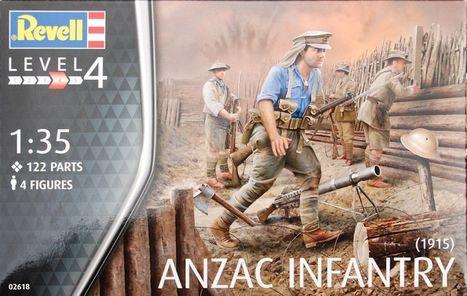 ANZAC Infantry (1915) in 1/35... - Figures | Francois' Scale Modeling Gazette | Scoop.it