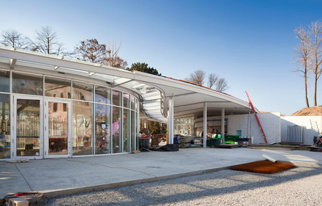 Brooklyn Botanic Garden Visitor Center | The Architecture of the City | Scoop.it