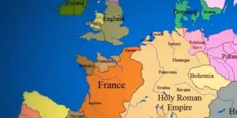 Incredible Time Lapse Video Shows 1,000 Years Of European Border Changes | Banco de Aulas | Scoop.it