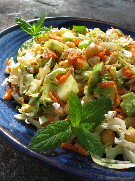 Cabbage Salad with Dijon-lime Dressing | Healthy Whole Foods | Scoop.it