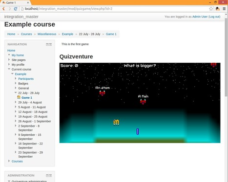 Moodle plugins: Quizventure | elearning stuff | Scoop.it