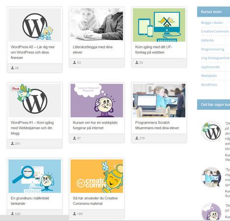 Alla webbkurser   Webbstjärnans kursportal   Lärande   Scoop.it