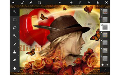 Adobe Brings Photoshop Touch to the iPad - Mashable | Multimedia on the iPad | Scoop.it