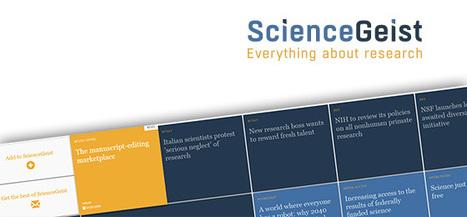 ScienceGeist | Un site du FNS quipropose une sélection d'articles et d'opinions sur les enjeux actuels en politique de la science | Dialogue sciences - société | Scoop.it