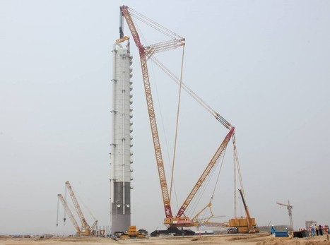 Large structures: Tackling the extremes - Heavy Lift Specialist | civil engineering | Scoop.it