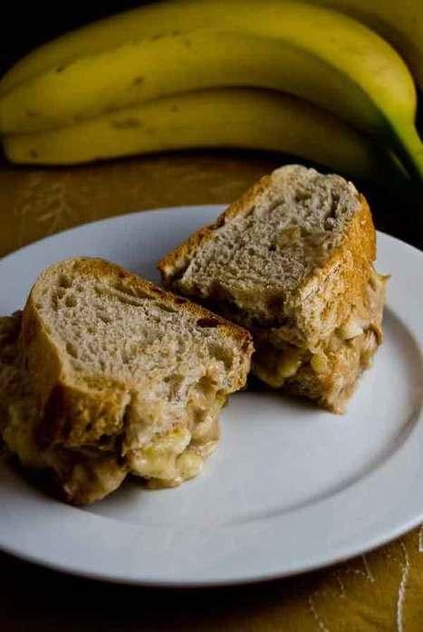 Sloppy Smushy Banana PB Sandwiches, baby! - Crunchy Living | | Plant-Based Recipes | Scoop.it