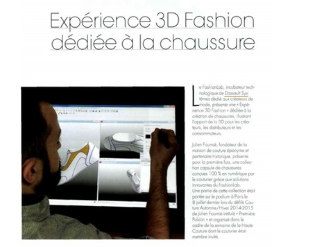 Expérience FashionLab dans un magazine professionnel | FashionLab | Scoop.it