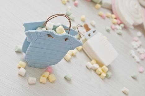 candy bag – sweet baby favour tutorial | Letiziagrella - Cake Designer | Cake Design | Scoop.it