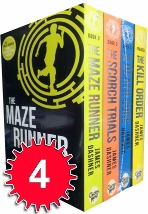 Maze Runner Series 4 books Set Collection James Dashner | YAFic | Scoop.it