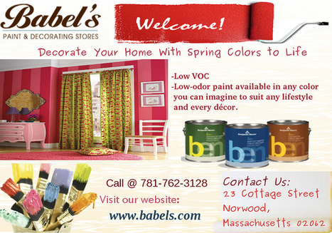 Decorate Your Home with Spring Colors to Life | Babels Paint and Decorating Stores | Scoop.it